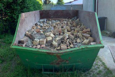 Bauschuttcontainer